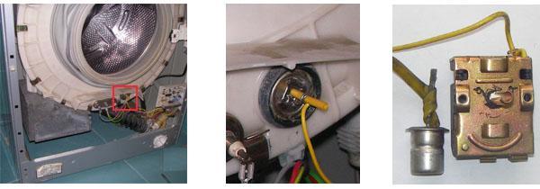 Термостат для стиральной машины
