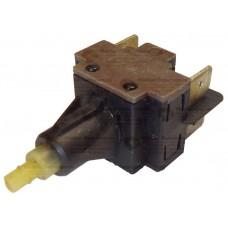 Кнопка сетевая для стиральных машин, на 4 контакта (универсальная), cod: ST02R08