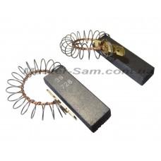 Щетки для электродвигателя Bosch-Siemens, с пружиной двухслойные 5*12,5*32,5